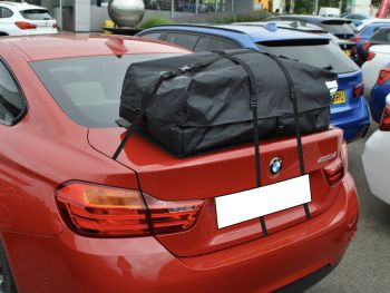 BMW 4 Series Coupe Roof Box / Roof Rack Alternative : boot-bag Vacation 75L