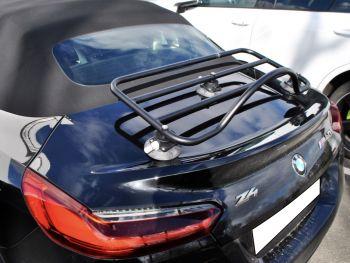 BMW Z4 boot rack in black on black bmw z4 g29