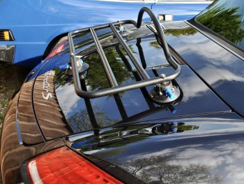 porsche boxster luggage rack fitted to a 987 boxster s