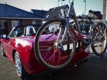Fiat 124 Spider Bike Rack