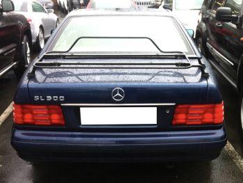 Mercedes SL R107 & R129 Luggage Rack : Spring Black