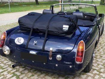 mgb boot luggage deck rack boot-bag vacation