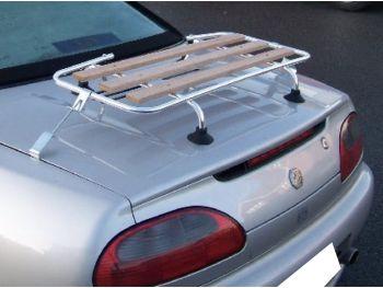 mgf mgtf classic wood luggage rack